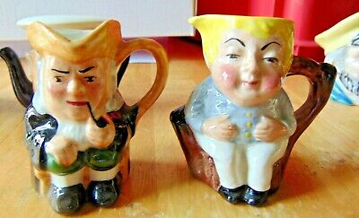 Two Collectable Artone Mini Character Toby Jugs • 8.99£