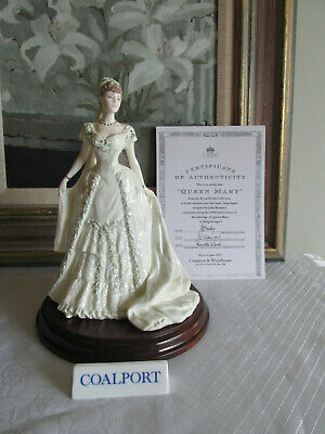 Coalport  Queen Mary  - 'Royal Brides Collection' Figurine - By John Bromley -  • 80£
