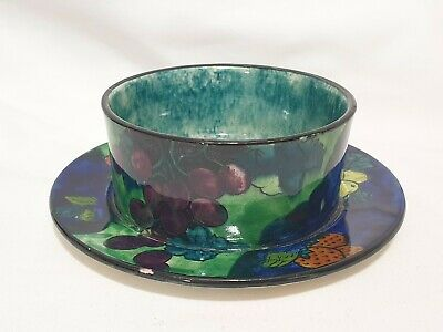Titian Ware Hand Painted Bowl Dish By F X Abraham, Hancock & Sons  • 12.99£