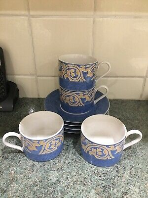 Bhs Seville Cups And Saucers X 4 Lovely • 7.99£