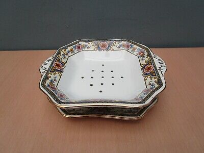 Vintage Winton Ware Salad Drainer Bowl And Plate   • 5.50£