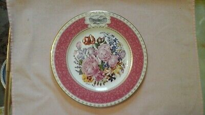 Royal Doulton Rhs The 1998 Chelsea Flower Show Plate - Prince Of Wales Bouquet • 5£