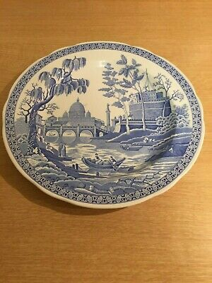 Spode Blue Room Collection Plate - Rome - 10.5 Inch • 12£