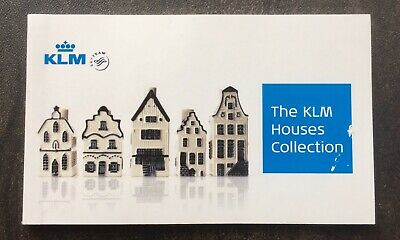 KLM Dutch Houses Collection Booklet • 4.50£