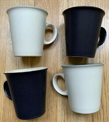 4 X Denby Small Mugs - Style Possibly Juice? Please Read Description • 4.49£