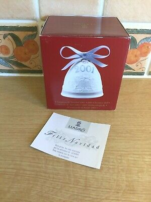Lladro Christmas Bell 2001 - Boxed • 15£