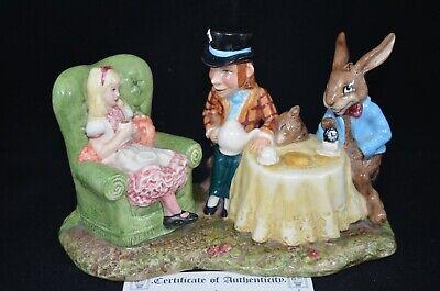 Royal Doulton Beswick Ware Ltd. Edition Mad Hatter's Tea Party With Certificate • 65£