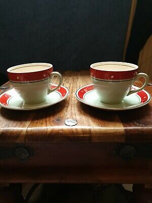 Pair Alfred Meakin Cup And Saucers Vintage Good Condition  • 0.99£