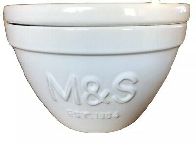 Marks And Spencer Vintage Pudding Basin With Lid • 5.50£