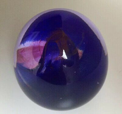 Vintage Langham Glass-crystal Paperweight-rare- Hand Blown-excellent Condition • 9.99£