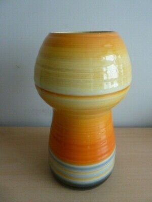 Pretty Shelley Harmony Banded Vase Must See • 19.99£