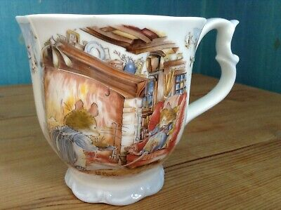 Royal Doulton BRAMBLY HEDGE  Winter  Beaker - Superb Unused, Unmarked Condition • 17.50£
