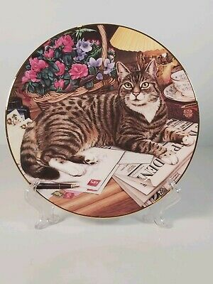 Royal Doulton   The Independent Cat  Collectors Plate, Appr. 21cm • 9£
