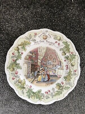 🐰 BRAMBLY HEDGE 🐰 Homes & Workplaces Full Set ~ Collectors Plate ~ IMMACULATE • 120£