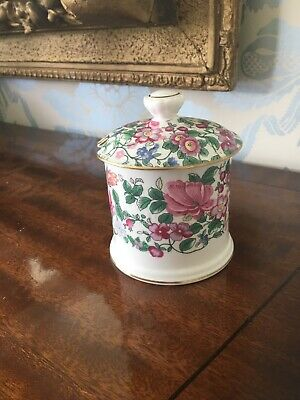 Crown Staffordshire Thousand Flowers Preserve Jar • 8£