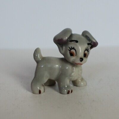 Wade Whimsies - Disney Lady & The Tramp - Scamp Dog - No Chips (MC9) • 0.99£