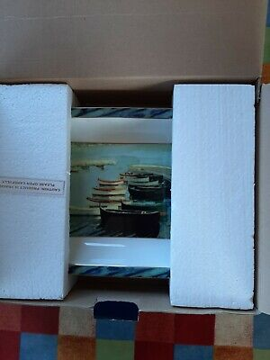 Border Fine Arts Studio Winston Churchill Study Of Boats Bnib • 14.99£