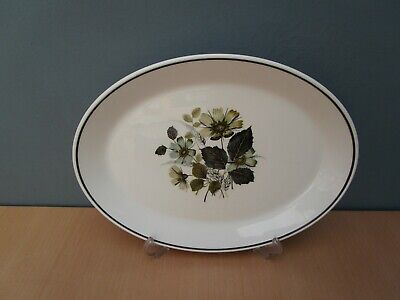VINTAGE JOHNSON BROTHERS 'WILDMOOR' 12 1/4 Inch OVAL PLATTER • 5£