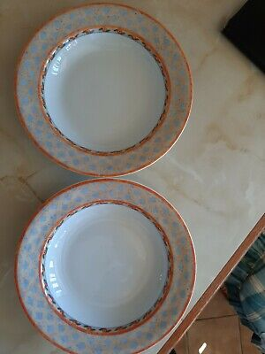 Villeroy And Boch Switch 4 Navara Rimmed Bowls X 2 • 16.99£