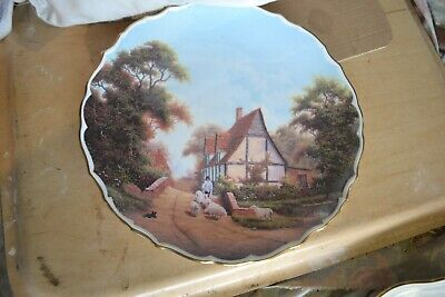 Spode Rural Scenes Plate No 6 The Shepherd  By Raymond Mutch • 2£