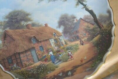 Spode Rural Scenes Plate No 3 The Cottager By Raymond Mutch • 2£