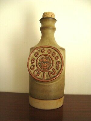 A Nice Vintage Gin Decanter - Tremar Studio Pottery Cornwall !! • 19.99£