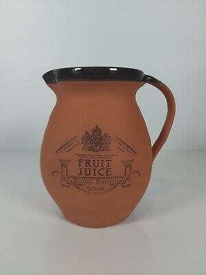 Royal Barum Ware Fruit Juice Jug, Appr.6.5 /17cm H • 19£