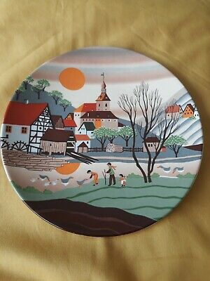 Poole Pottery Barbara Furstenhofer 425 Spring II Collectors Plate • 6.99£