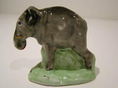 Rare Antique Early 1800's Staffordshire Childs Toy Elephant Figurine Model 271 • 23£