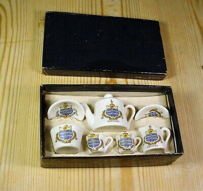 Worthing Crest Boxed Set Nursery / Child's Tea-For-Two • 9.99£
