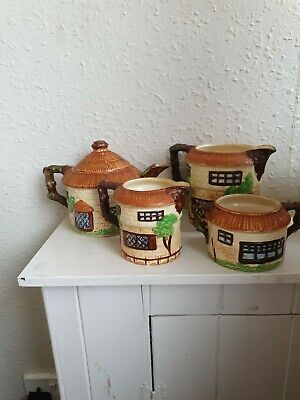 Beswick Pottery Cottage Tea Set Good Condition  • 4.99£