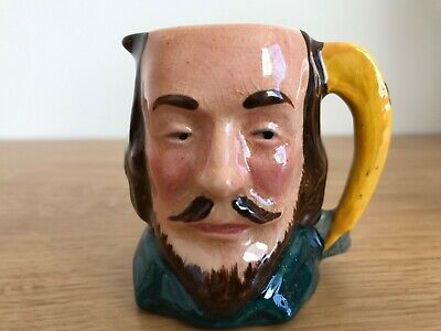 Toby Jug Egg Cup Shakespeare  Lancaster Sandland Character Ware Hand Painted  • 3£