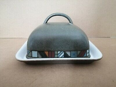 Denby Marrakesh Hand Crafted Butter Dish • 15£