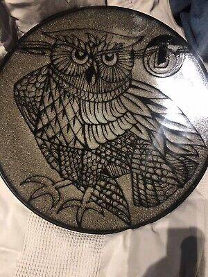 Poole Pottery Aegean 54 Owl Patterned Bowl • 50£