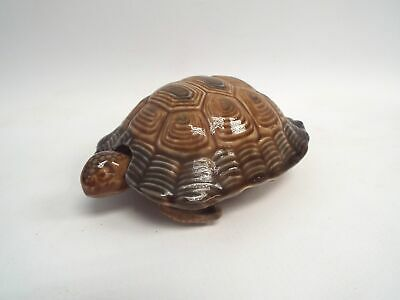WADE  PORCELAIN  Vintage Turtle Trinket Box Ornament - N22 • 4.99£