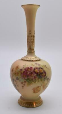 Superb Antique Royal Worcester Hand Painted Vase Dated - Dated 1912 - Shape 1661 • 8£
