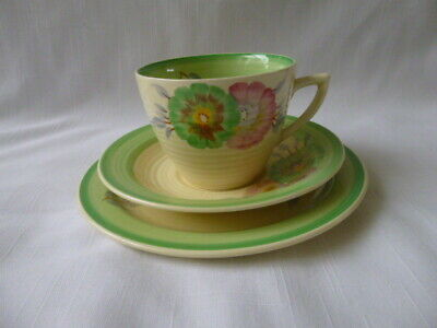 Clarice Cliff Sundew Trio - Cup Saucer Plate  • 29.99£