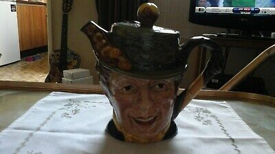 Vintage Retro Beswick Pottery Sam Weller No 1369 Decorative Character Teapot • 8£