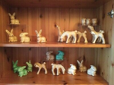 Rare Art Deco Collection Of Horse,Pekingnese And Rabbit Figurines - Denby • 19.99£
