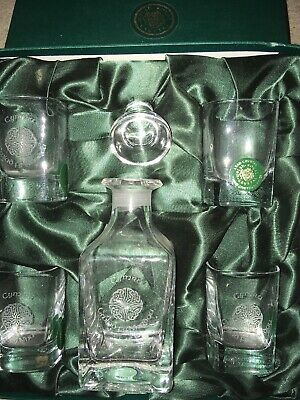 Welsh Royal Crystal Shot  Set Boxed • 30£