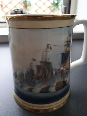 🔥 Royal Doulton Limited Edition 671/2500 Nelson Victories Tankard 🔥EXCELLENT C • 14.99£