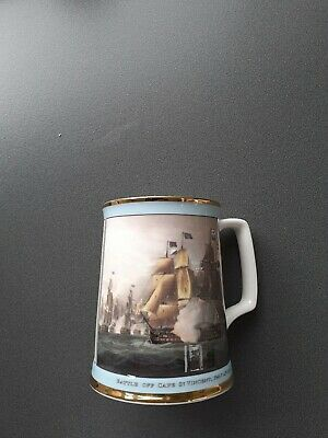 🔥 Royal Doulton Limited Edition 597/2500 Nelson Victories Tankard 🔥EXCELLENT C • 14.99£