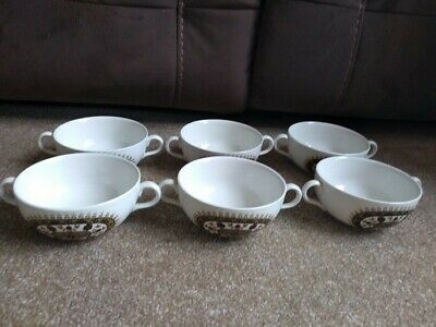 Set Of Six Vintage Ridgway 'Navajo' Pattern Soup/Cereal  Bowls  • 8.99£