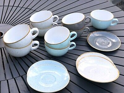Churchill China Stonecast Cups And Saucers • 3.75£