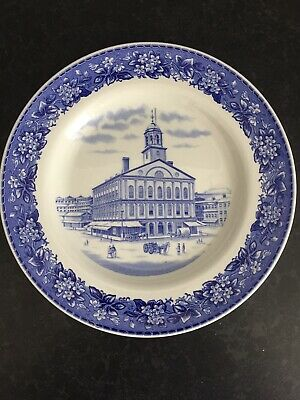SPODE SHREVE CRUMP AND LOW Faneuil Hall Plate • 7.50£