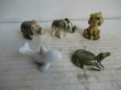Wade Flintstones Whimsies + Others. Rhino, Tiger, Elephant,alligator,dolphin. • 3.99£