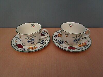 2 Royal Stafford Toscana Large Breakfast Cups And Saucers • 8.50£
