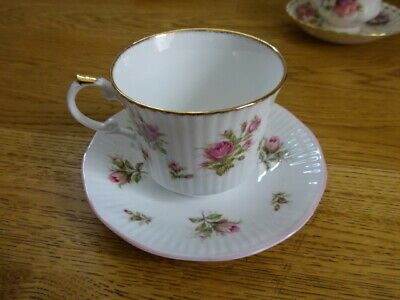 Royal Heritage Cup And Saucer Duo Bone China Flora Buds • 3.79£