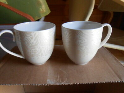 Denby Monsoon Lucille  - TWO Pieces - Large Mug Set • 15£