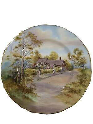 Royal Worcester, Cabinet Plate, Anne Hathaway's Cottage,... • 4.20£